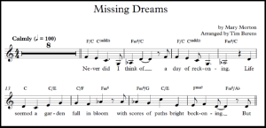 sheet music long